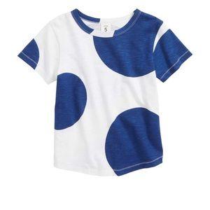 Boys Stem polka dot t shirt size 7